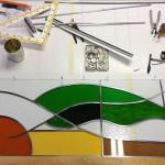 Aan het werk Glasfabriek