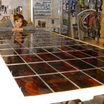 2m2 Glas in lood Glasfabriek